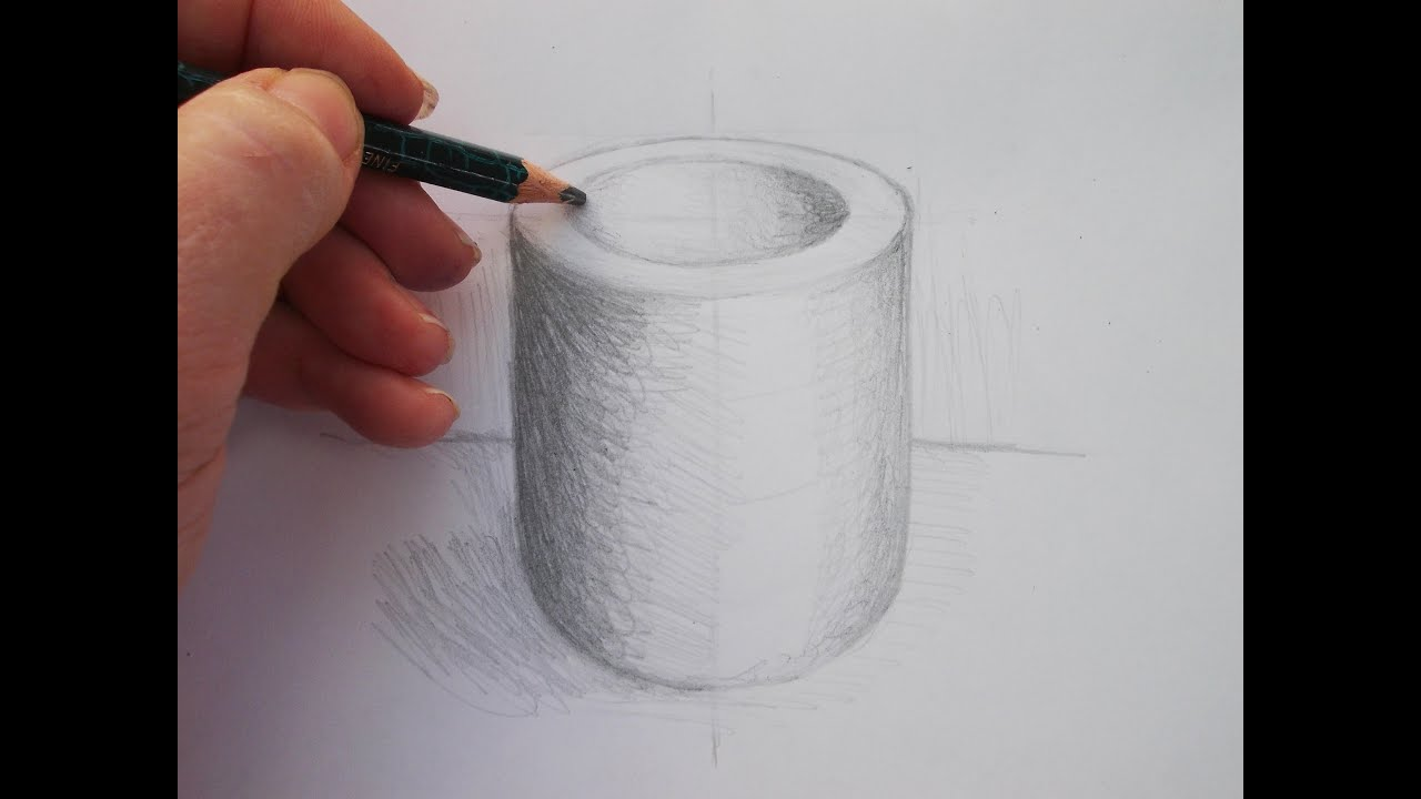 Simple Drawing Exercise: Drawing an Ellipse Step by Step ...