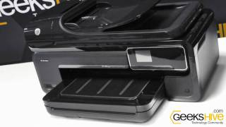 Impresora HP Officejet 7500A e-All in One de carro ancho - review by www.geekshive.com (español)