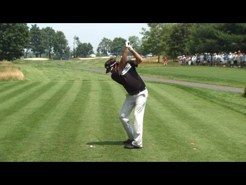 Bubba Watson SwingVision on Saturday at Travelers Championship