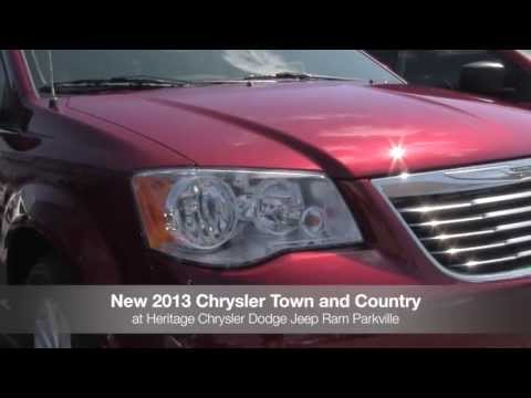New 2013 Chrysler Town & Country Video Tour MD | Chrysler Dealer Parkville