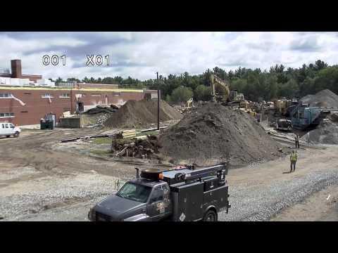 Time Lapse: SHS Back Parking Lot Construction  9-11-15