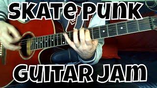 Skate Punk Acoustic Guitar Impro