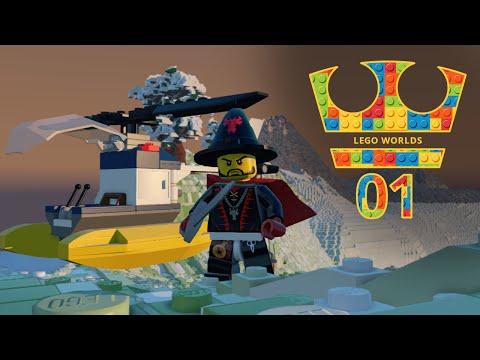 Jirka Hraje - Lego Worlds 01 - Začínáme!