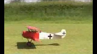 Flight of the Flair Fokker DVII at Chingle Model Club