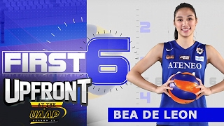Bea de Leon | First 6 | Upfront at the UAAP
