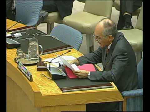 MaximsNewsNetwork: BURUNDI VIOLENCE: U.N. S-C: CHARLES PETRIE (UNTV)