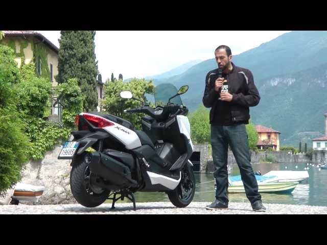 Vid�o Yamaha X-Max 400 : Le cha�non (sportif) manquant !