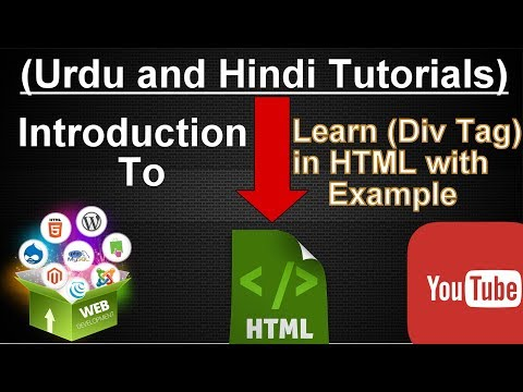 HTML div tag Explained with Example || Rana Tutorials.