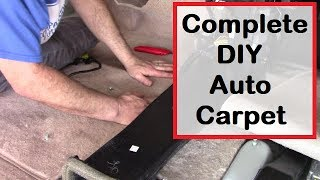 DIY Automobile Carpet Replacement - Complete Step by Step Guide