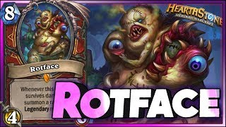 Hearthstone - Best of Rotface - Funny and lucky Rng Moments