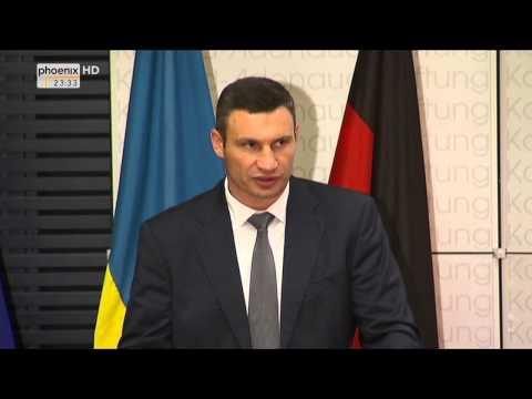 Ukraine-Krise: Vitali Klitschko über die Situation in seinem Heimatland am 12.09.2014