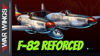 F-82 Reforced War Wings Gameplay