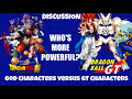 Dragon Ball Gt Vs Dragon Ball Super Characters Does This Power Scaling Make Sense image