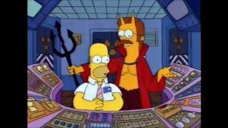 El Diablo y Homero Simpson (Parte 1/3) Los Simpson