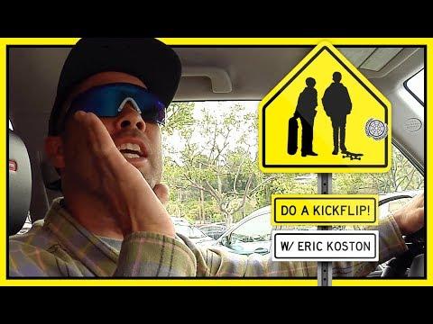 """Do A Kickflip!"" With Eric Koston In Glendale, California"