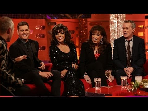 Joan Collins and her wig collection - The Graham Norton Show: New Years Eve 2013 - BBC One