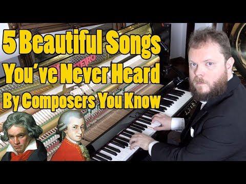 5 Songs You've Never Heard From Composers You Know. Vídeos de zueiras e brincadeiras: zuera, video clips, brincadeiras, pegadinhas, lançamentos, vídeos, sustos