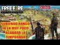 🔴 Subiendo Rango ya que en muy poco Acabara la Temporada - Free Fire - Armando Equipos MP3