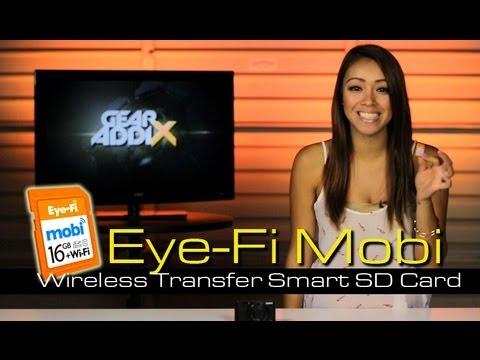 Eye-Fi Mobi Wireless Transfer SD Card Test & Review