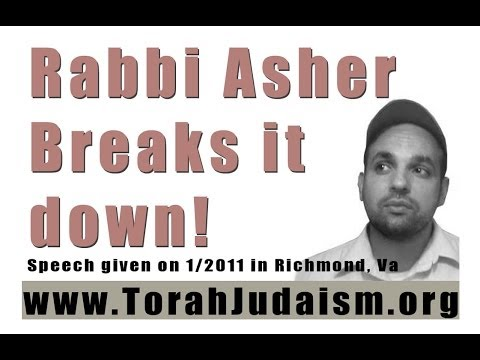 Rabbi Asher breaks it down!