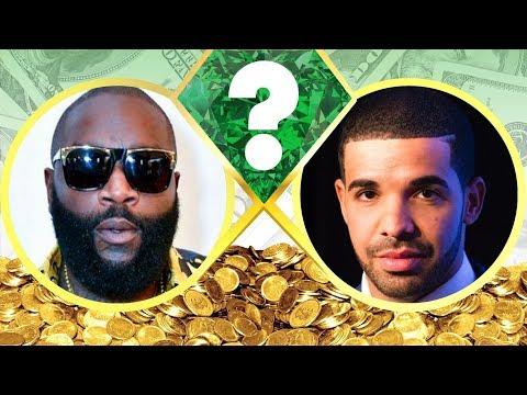 WHO'S RICHER? - Rick Ross or Drake? - Net Worth Revealed! (2017)