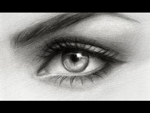 Drawing an Eye with only one Pencil