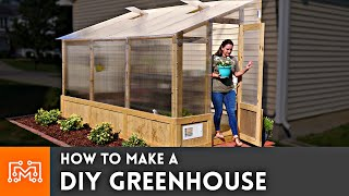 How to Make a DIY Greenhouse