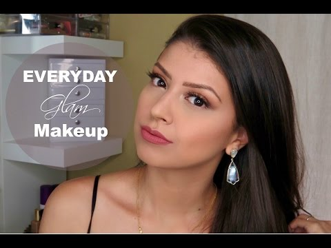 How To: Everyday Glam Makeup Tutorial