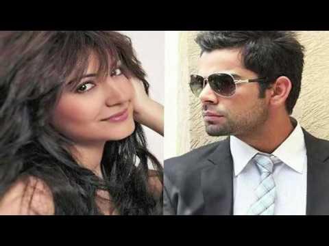 Hot Anushka Sharma & Virat Kohli romance Caught ! video