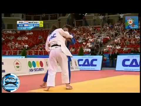 European Judo Championship Budapest 2013 Final -70kg POLLING Kim (NED) - BOLDER Linda (NED)