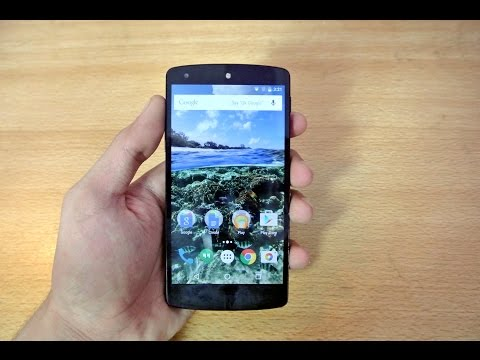 Nexus 5 - OFFICIAL Android 6.0 Marshmallow - Review HD