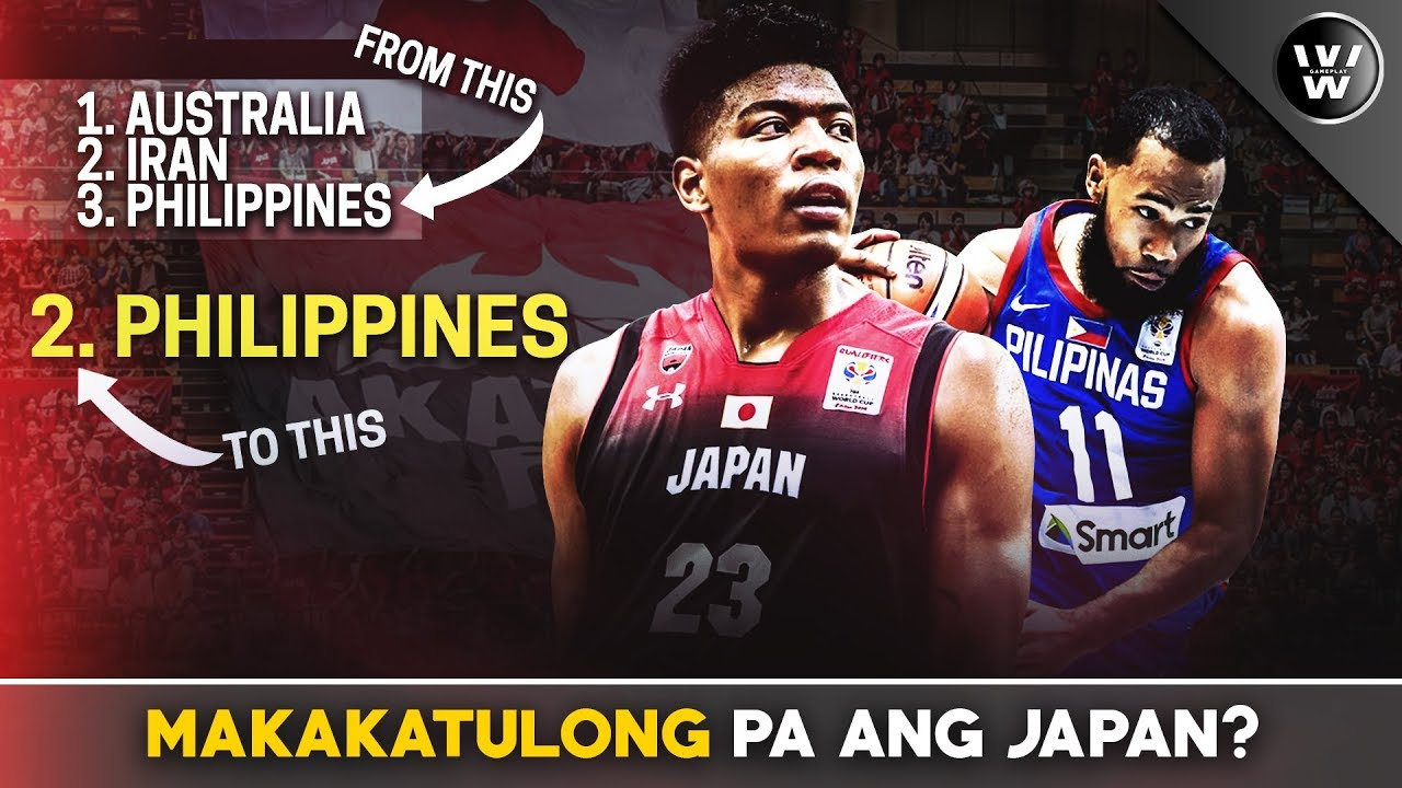 Makakatulong pa ang Japan sa Team Pilipinas? | Scenario where PH will be #2