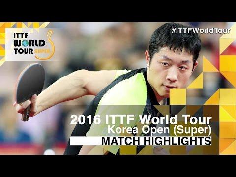 2016 Korea Open Highlights: Ma Long vs Xu Xin (Final)