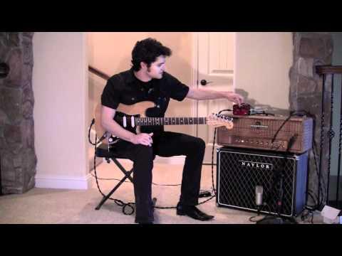 Allan Holdsworth Signature OD/Boost - J. Rockett Audio Designs - Fender Stratoocaster