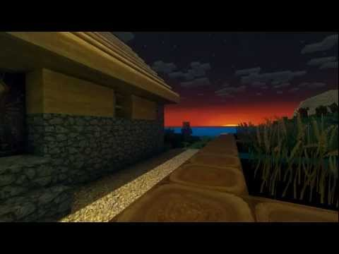 Minecraft Glsl shader Balea-256x256 texture with  Bumpmapping and incredible Dynamic shadows