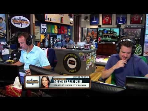 Michelle Wie on the Dan Patrick Show (Full Interview) 6/24/14