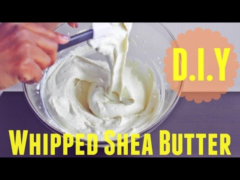 Homemade Whipped Shea Butter Mix   Natural Hair