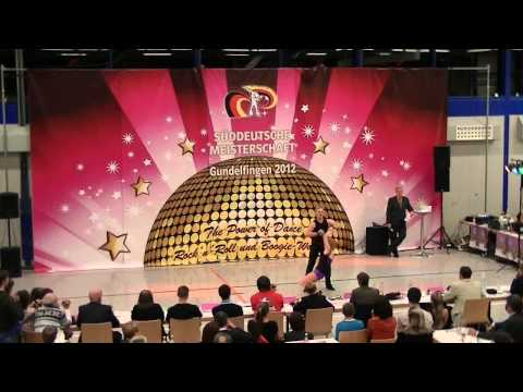 Helen Maas & Jens Bauerschmidt - Süddeutsche Meisterschaft 2012