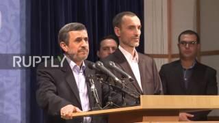 Iran: Ahmadinejad registers in presidential elections despite Khamenei's warnings