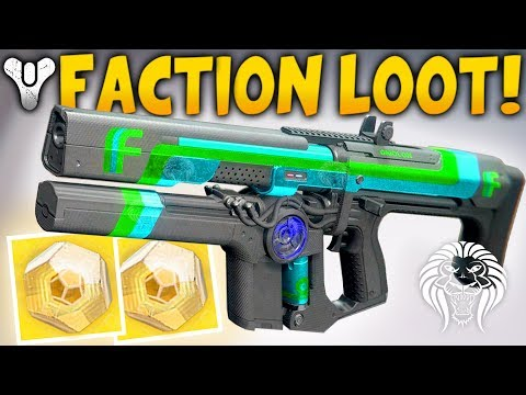 Destiny 2: NEW FACTION LOOT & CHANGES! Get More Exotic Engrams, Impossible Strike & Raid Rotation