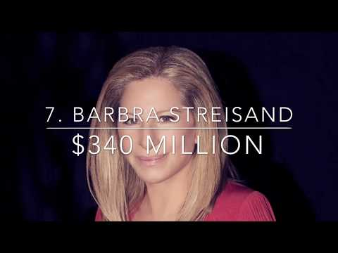 Top 10 Richest Female Singers