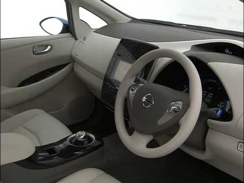 New Nissan Leaf EV 2010 - Interior and Technic