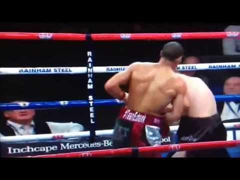 Chris Eubank Jr. Second Round Stoppage (vs. Omar Siala) video