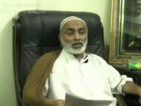 Fazil Alvi Promoting Nusehri Belief Regarding Mola Ali & Hazrat Adam. Answer From Shia Alim video