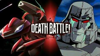 Genesect VS Megatron | FAN MADE DEATH BATTLE TRAILER!