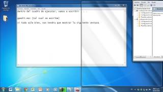 Tutorial para bloquear / desbloquear el panel de control en Windows 7 y Windows 8