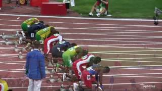 My Upclose Footage of Usain Bolt winning the 100m Olympics Final - Beijing Olympics 2008