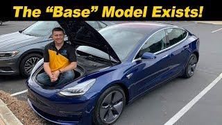 """Our """"Base"""" Standard Range Model 3 Arrived!"""