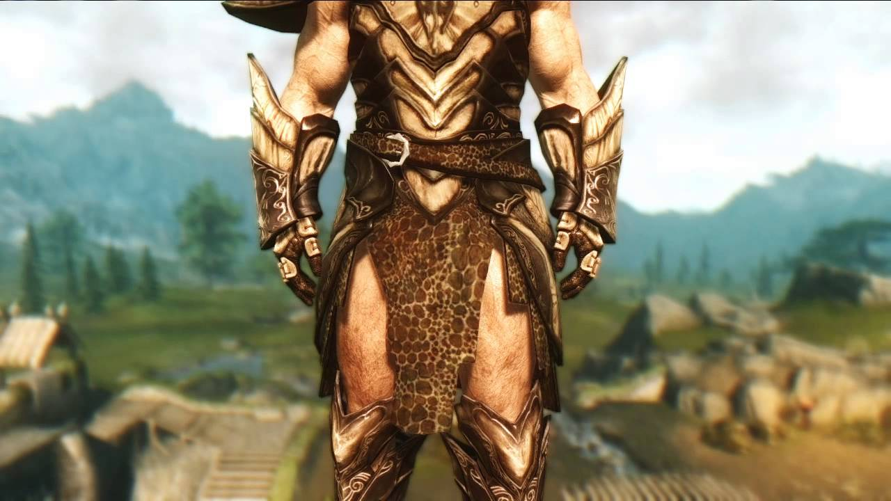Skyrim Mod Dragon Knight Armor By Hothtrooper44 Youtube