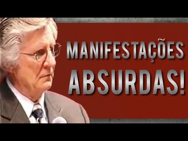 Manifestações ABSURDAS - David Wilkerson (legendado)